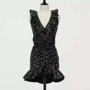 NEW!! Giambattista Valli X H&M Sequined Dress Sz 6